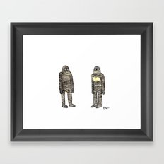 Mummies Framed Art Print