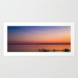 Serenity on Lake Monona Art Print