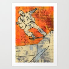 BackSide Tail. Art Print