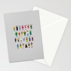 Pixel Superhero Alphabet 2 Stationery Cards