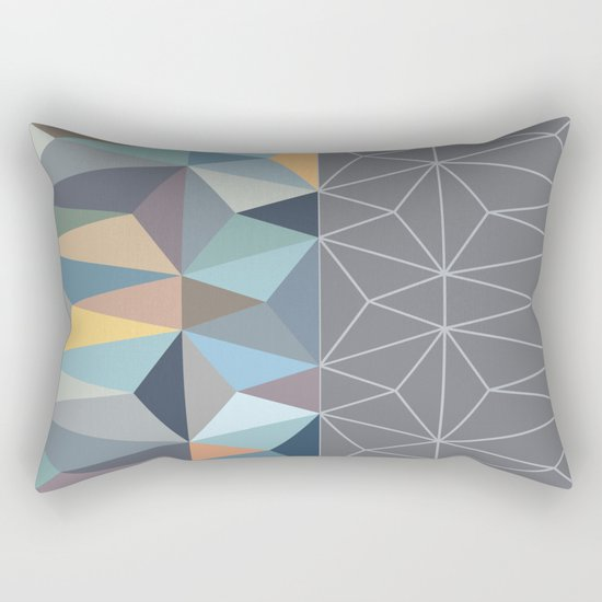Nordic Combination 31 Rectangular Pillow