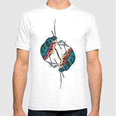 insects:love 01 SMALL Mens Fitted Tee White