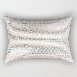 Autumnal Thin Lines Rectangular Pillow