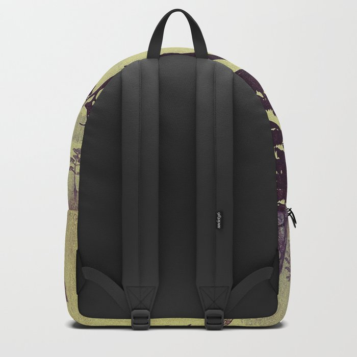 Old Man Standing Backpack