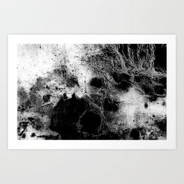 The Peggy / Charcoal + Water Art Print