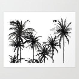 Paradis Noir V Art Print