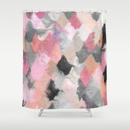 Summer Pastels Shower Curtain