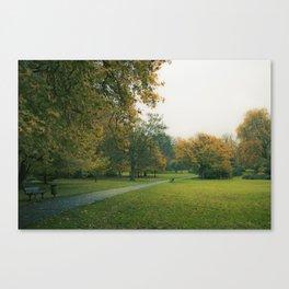 Beddington Park in Autumn Canvas Print
