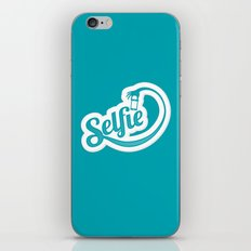 Stop. Let me take a selfie. iPhone & iPod Skin