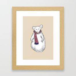 Autumn Mouse Framed Art Print