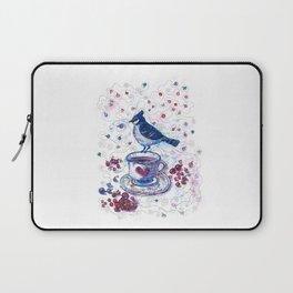 Winter Tea (Ble Jay) Laptop Sleeve