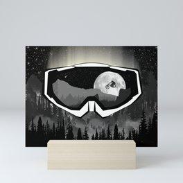Mask Mini Art Print