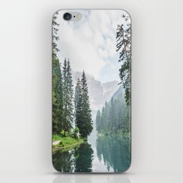 moody landscape iPhone Skin
