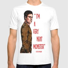 Dexter Morgan Mens Fitted Tee White MEDIUM