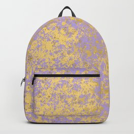 Lavender and Gold Patina Design Backpack
