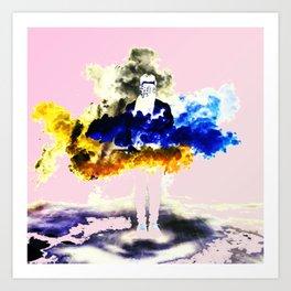 Boom Color Art Print