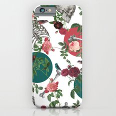 Skull Rose and Polka Dot iPhone 6s Slim Case