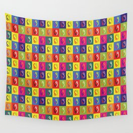 Skydive Pop Art Pin  Wall Tapestry