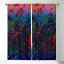 Extruding Color Blackout Curtain