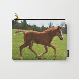 Little Running Man (horse) Carry-All Pouch