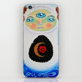 Dreamtime Yeti iPhone Skin