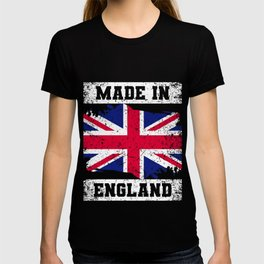 Made In England T-Shirt United Kingdom Tee T-shirt