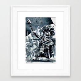 Dragut Rais Framed Art Print