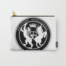 MI6 Logo (Millitary Intelligence Section 6) Carry-All Pouch