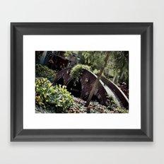 Taking Over The Scenery Framed Art Print