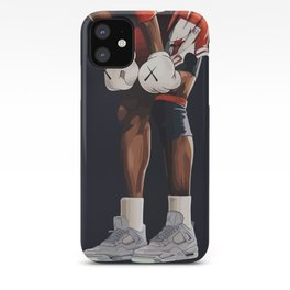 KAWS boxing gloves and shoes iPhone Case