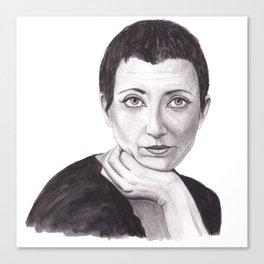 Helene Cixous Canvas Print