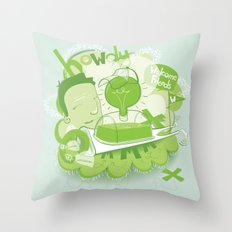 how i remember it Throw Pillow