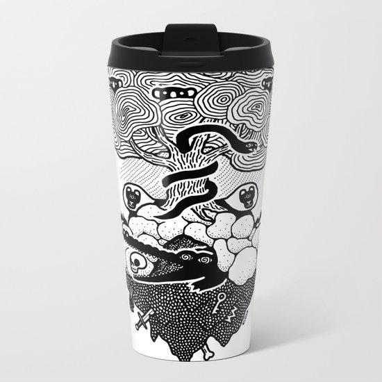 Hypnoisland Metal Travel Mug