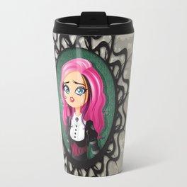 Gothic doll crying Travel Mug