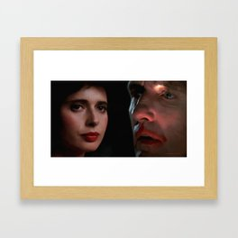 Isabella Rossellini and Dennis Hopper Framed Art Print