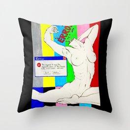 Societal Error Throw Pillow