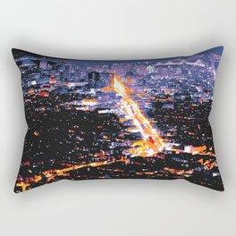 San Francisco Market Street Rectangular Pillow