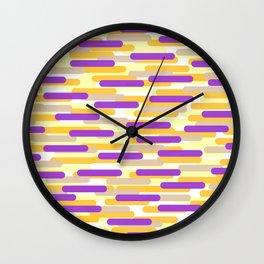 Fast Capsules 9 Wall Clock