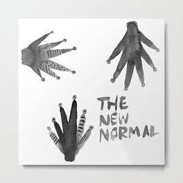 The New Normal Metal Print