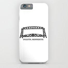 Duluth, MN Aerial Lift Bridge iPhone Case