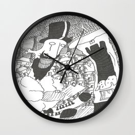 Posting A Letter Wall Clock