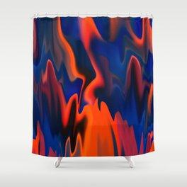 Fire Camp Shower Curtain