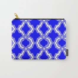 Grille No. 1 -- Blue Carry-All Pouch