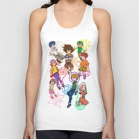 digimon Tank Tops featuring digi destined by SIDE PROJECT