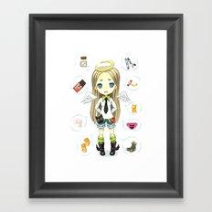Wish List Framed Art Print