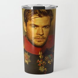 Chris Hemsworth - replaceface Travel Mug