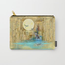 Nature Reflected Series: Wishing on the Moon  Carry-All Pouch