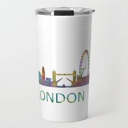 London UK Skyline HQ Travel Mug