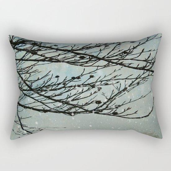 Winter Days Rectangular Pillow