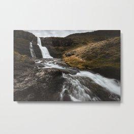 Unknown waterfall 2 Metal Print